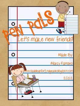 pen pal letter template pen pals lets make new friends pen pals letter worksheets and