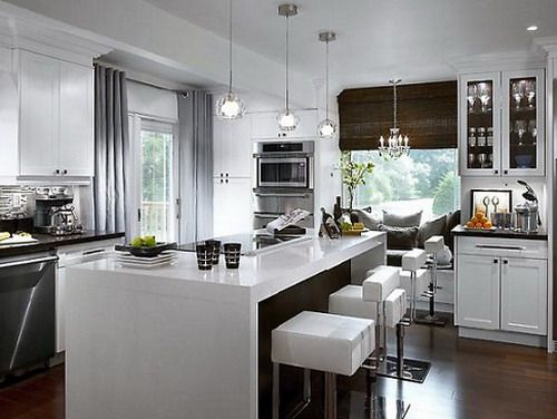 24-stationary-white-kitchen-islands-with-breakfast-bar.