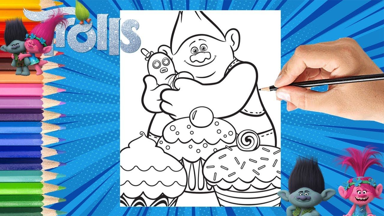Pin By Apencilstory On Drawing For Creative Kids Crayola Coloring Pages Coloring Pages Dreamworks Trolls