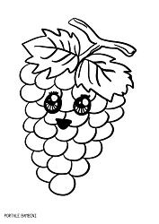 Disegni Di Frutta Da Stampare E Colorare Gratis Portale