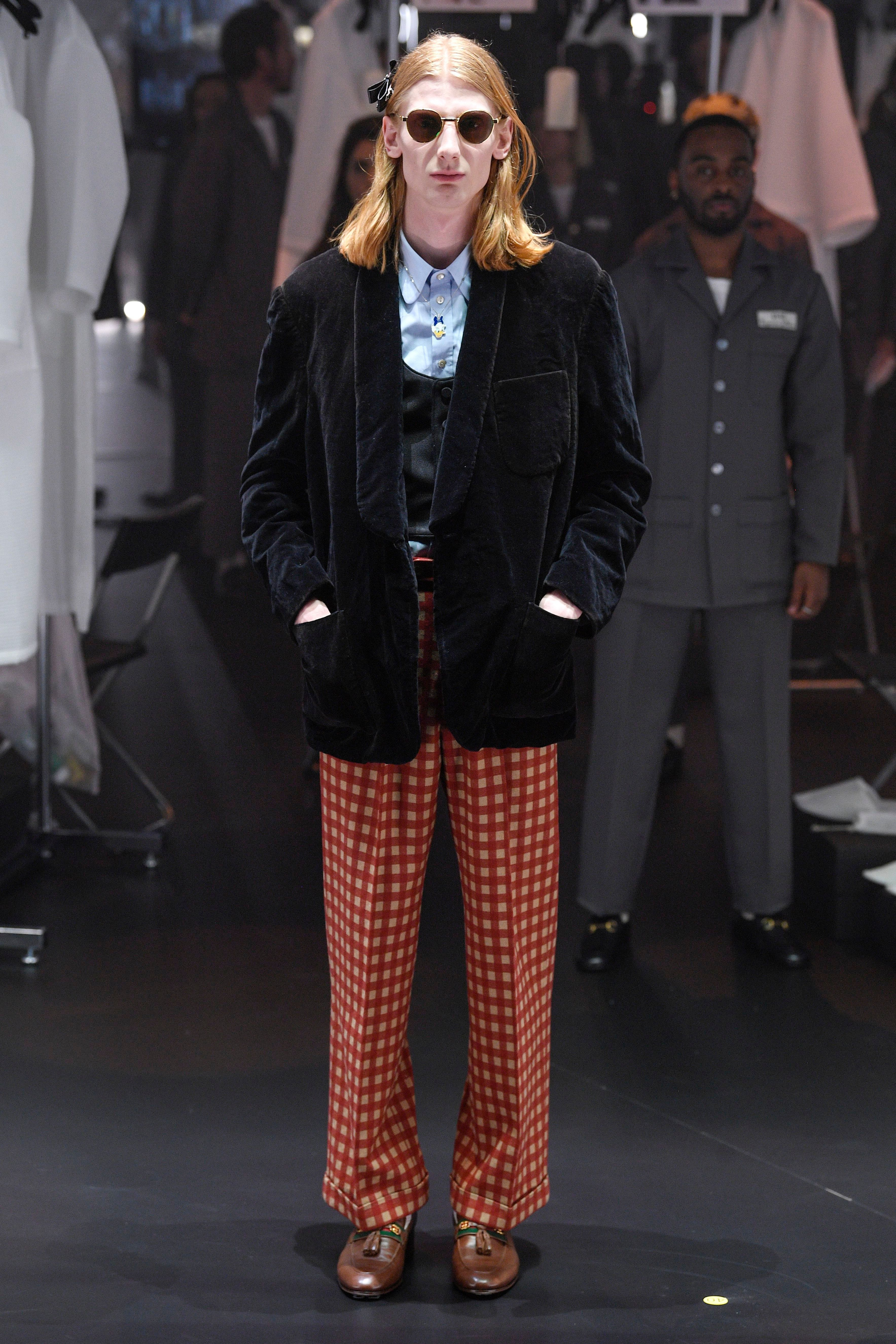 Expect to see harry styles in these gucci aw20 looks any