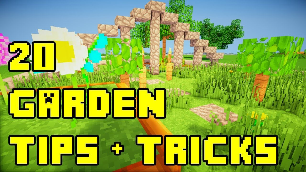 minecraft flower garden ideas | minecraft | pinterest | tutorials