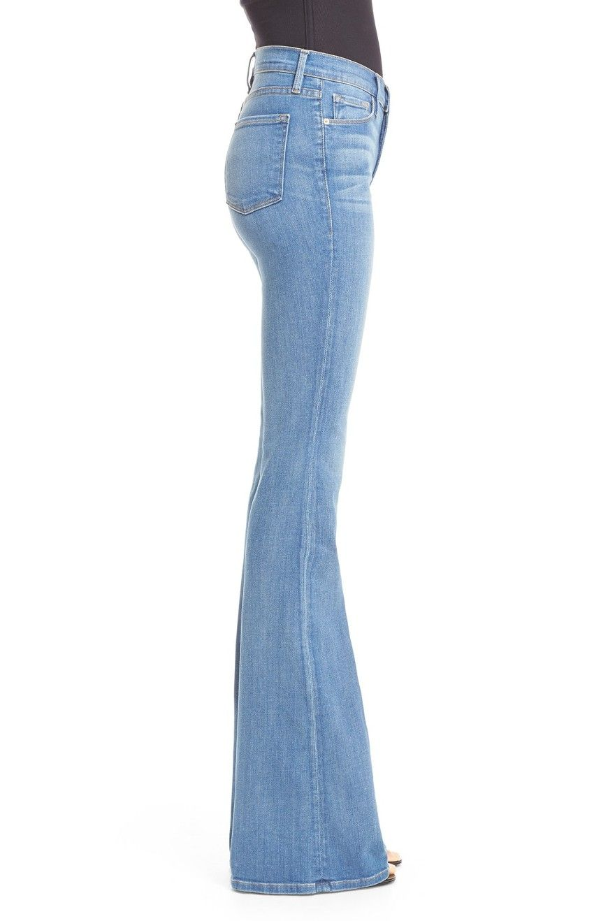 Main Image - FRAME Forever Karlie Flare Jeans (Linden) | KC ...