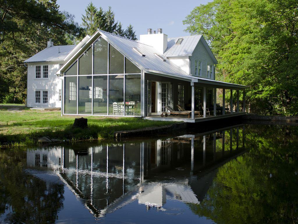 Farmhouse vacation rental in Eldred, NY, USA from