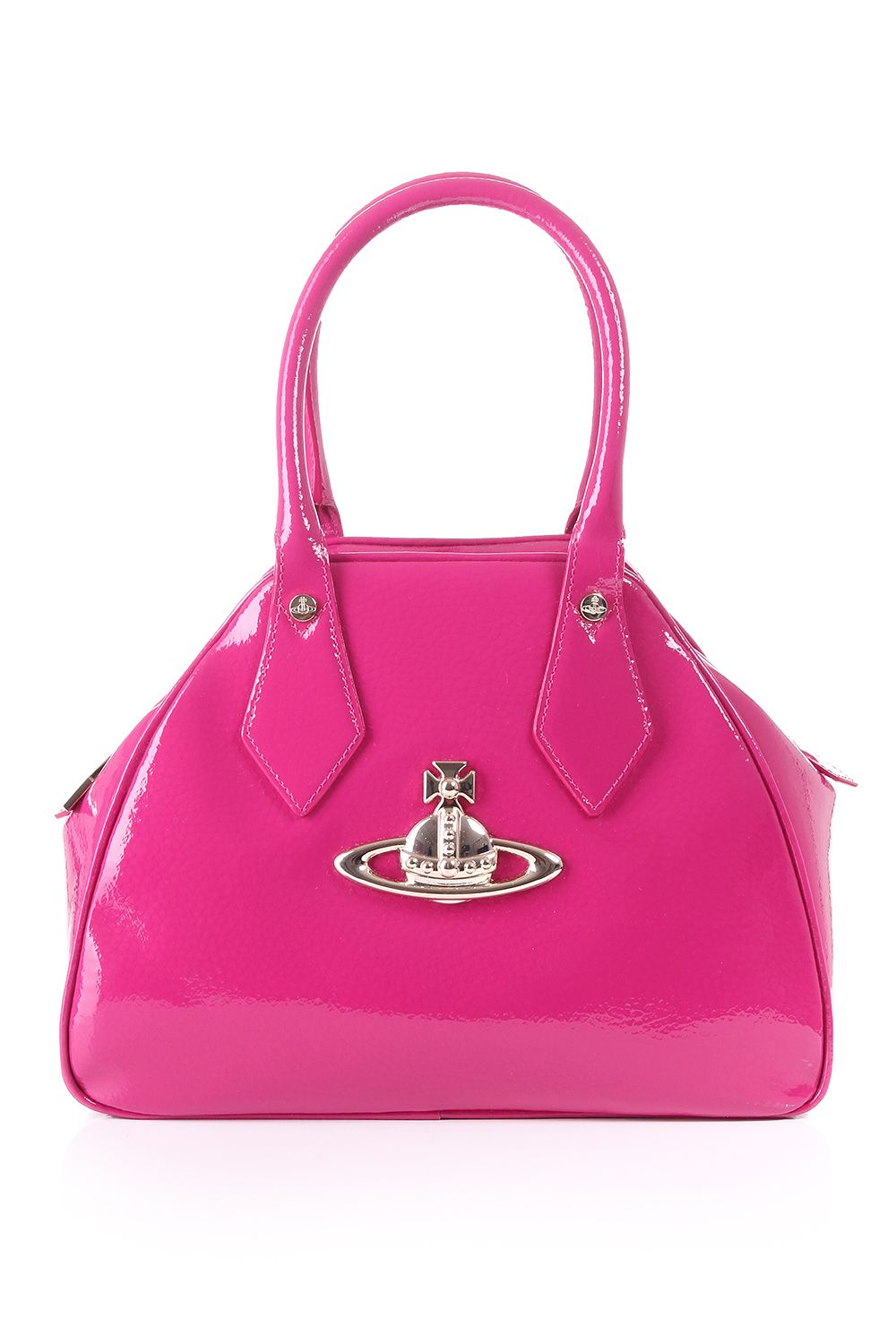 4359fbe171 Vivienne Westwood pink patent leather Yasmine bag. http://www.blueberries-