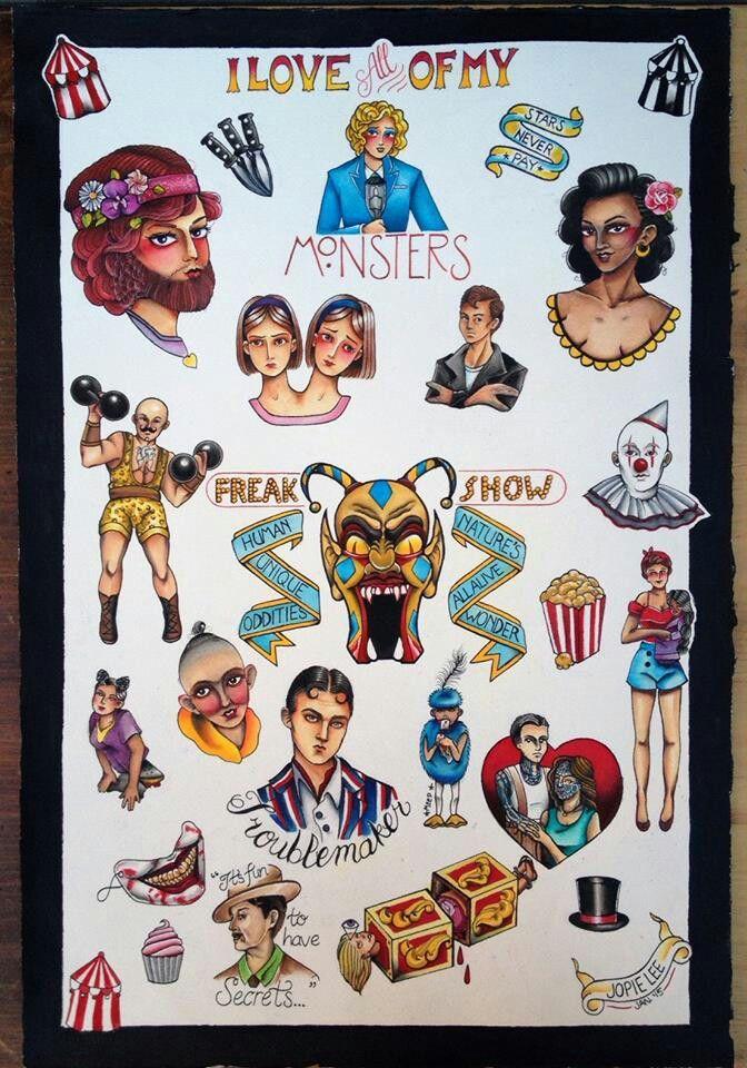 45++ Freakshow tattoo info