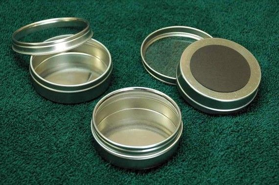 Magnetic spice tins DIY spice rack or home by ...