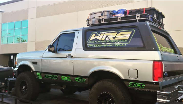 Roof Chase Rack Ford Bronco Ford Bronco Bronco Bronco Truck