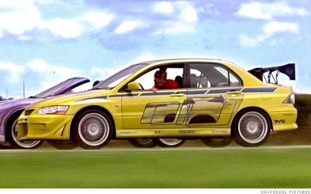The Fast And The Furious Cars Mitsubishi Lancer Mitsubishi