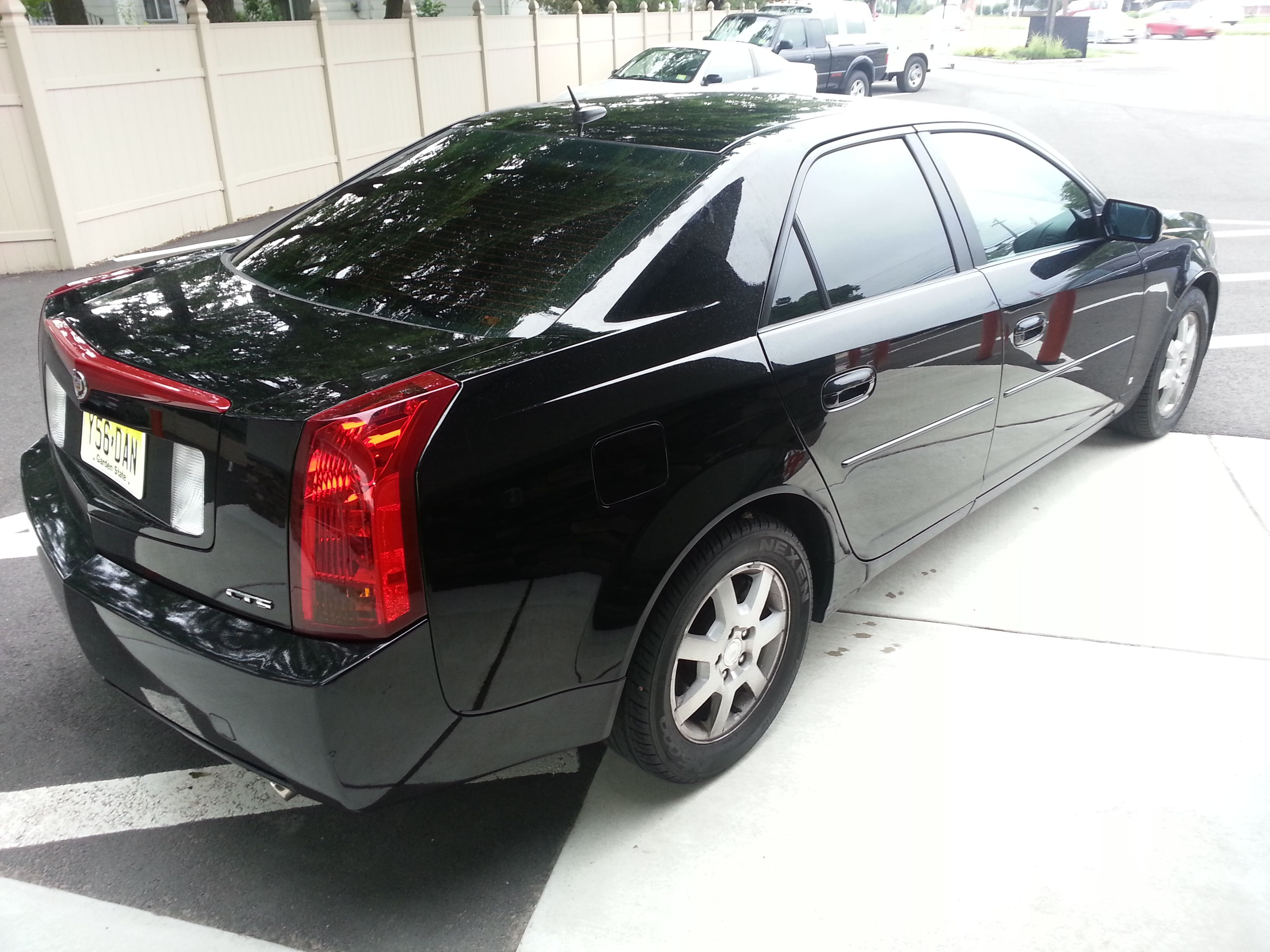 2006 cadillac cts suntek carbon 5 rear section