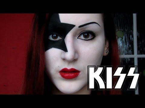 Kiss Starchild Makeup Tutorial Youtube Makeup Makeup