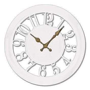 11 Inch Carved Wall Clock Clock Wall Clock Contemporary Wall Clock
