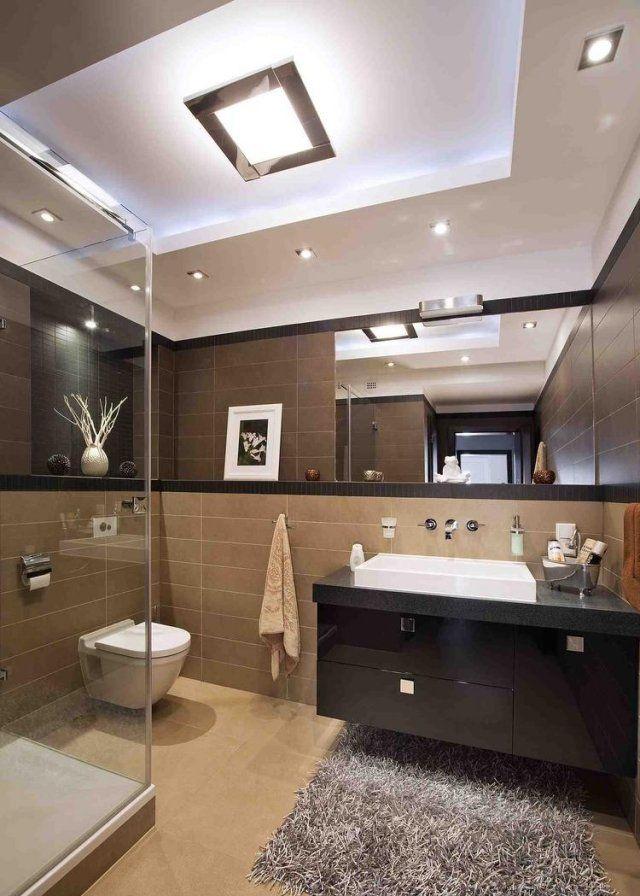 glasdusche kleines bad einrichten ideen wandspiegel. Black Bedroom Furniture Sets. Home Design Ideas