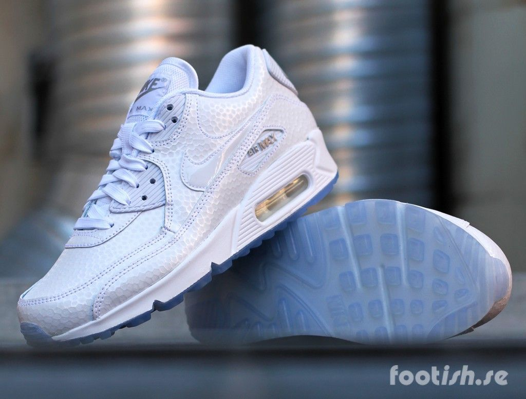 the latest b4fbf 8b4b9 Nike Wmns Air Max 90 Premium 443817-101 454746-106  Footish