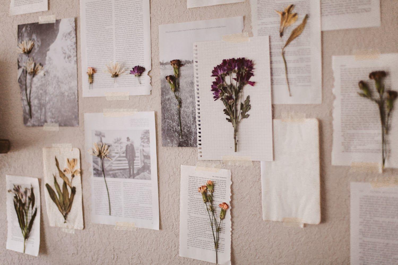 Floral wall art diy diy decor pinterest crafts