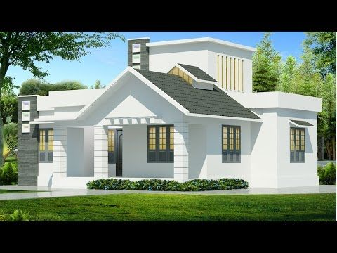Kerala Style 4 Bedroom House Plans Single Floor Youtube Cool House Designs Kerala House Design House Design Photos