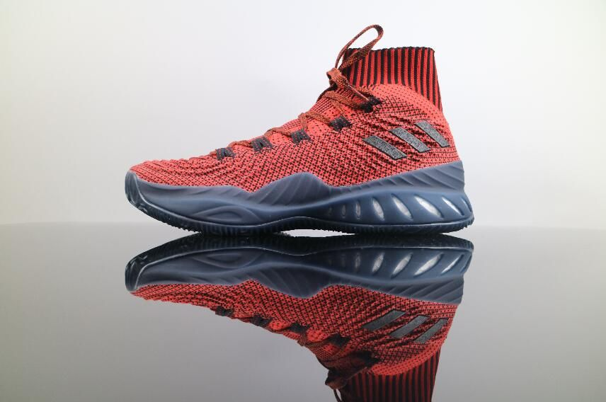 official photos aa2d2 8a940 Adidas Crazy Explosive Boost 2017 Primeknit Red Grey BY4468 Basketball Men  Footwear 40-46