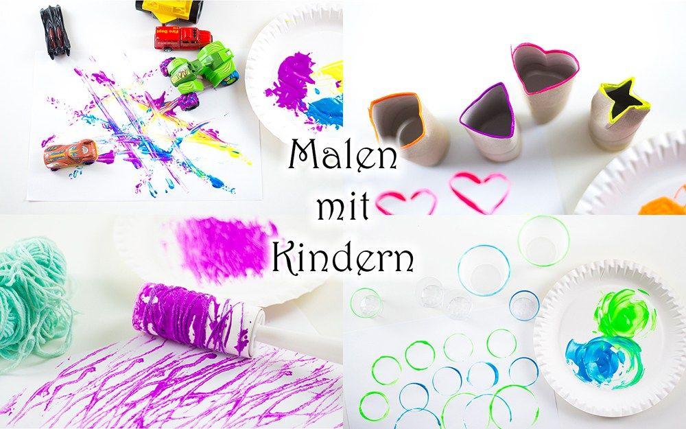 Photo of Malen mit Kindern: 4 coole Ideen, die Kindern Spaß machen — Mama Kreativ