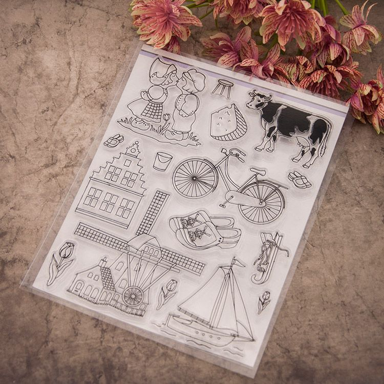 Cheap house paint spray gun, Buy Quality house bead directly from China house group Suppliers: Scrapbook DIY photo cards account rubber stamp clear stamp transparent chapter farm Cattle house bicycle ship 15x19cm K
