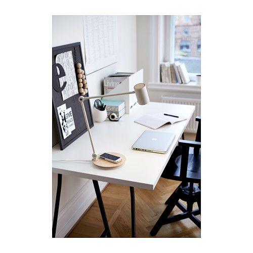 RIGGAD Työvalaisin + langaton laturi  - IKEA