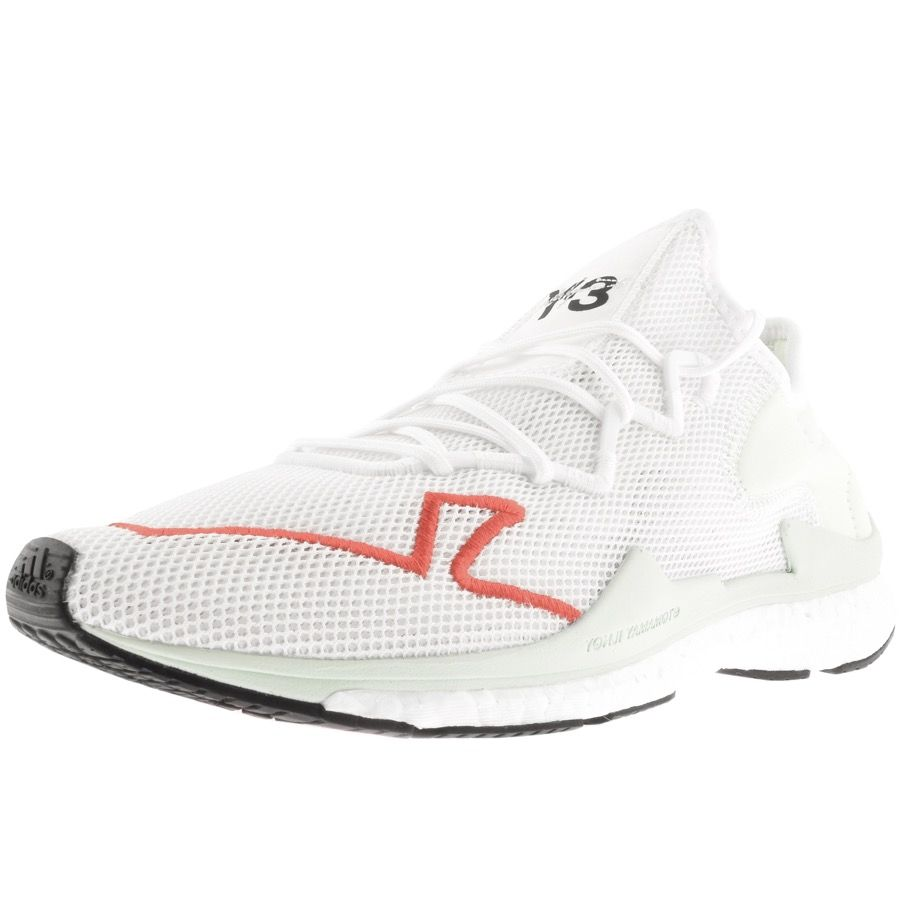 ed52e35bb Y-3 ADIZERO RUNNER TRAINERS WHITE.  y-3  shoes