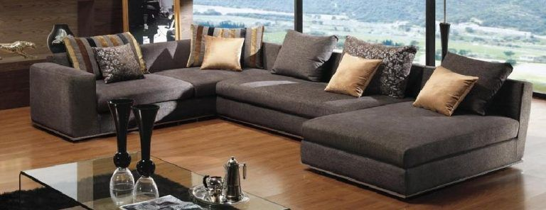 Sectional Sofa Deep Seating With
