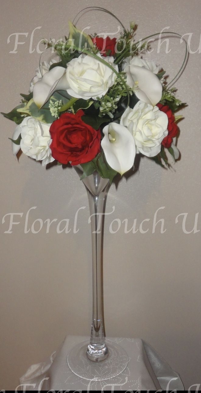 Wedding Centrepiece The Fl Touch Uk Top Table