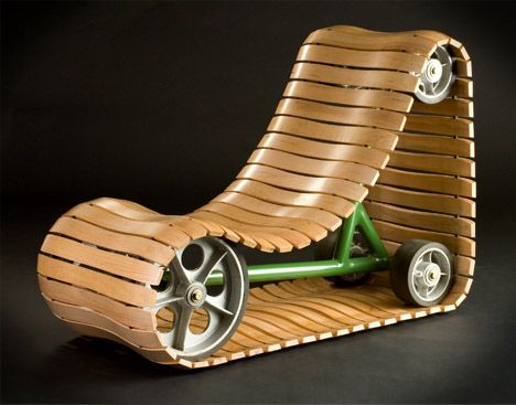 Chair Design tank-tread-moving-chair-design. you would never be bored, with
