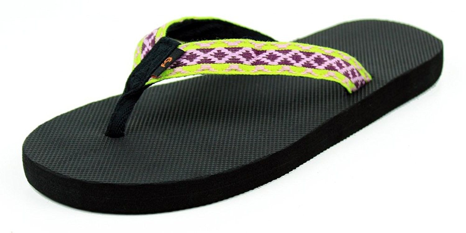 67be68e6b9ffa Women s Softstrapz Natural Rubber Flip Flop Sandal - Comfortable and ...