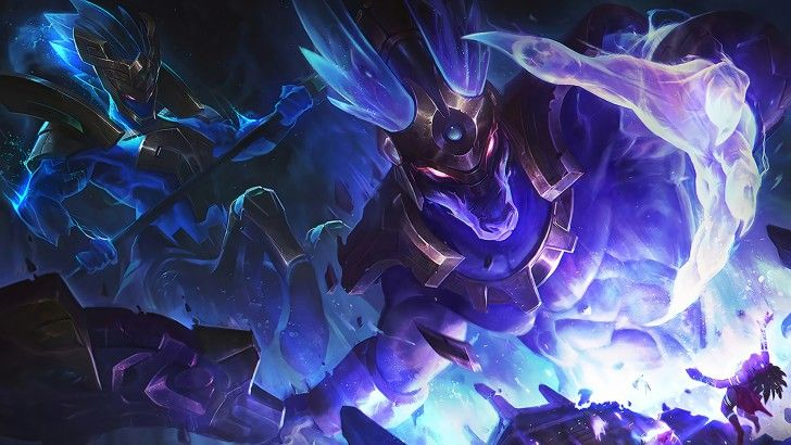 Worldbreaker Nasus and Hecarim Splash Art Skin Wallpaper | Lol league of  legends, League of legends, Animales miticos