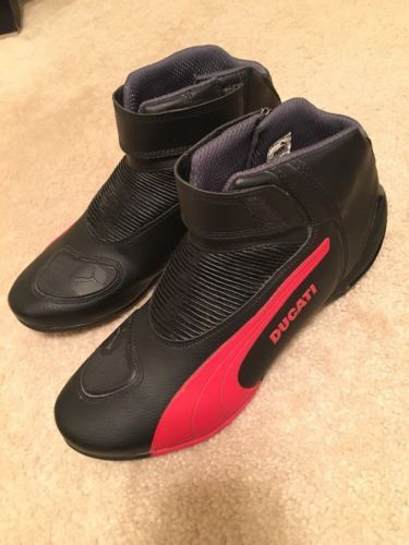 4c715253227 Puma-Ducati-For-Men-Motorcycle-Design-Boots-Size-13