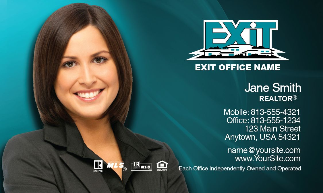 Exit Realty Business Card Design Ideas