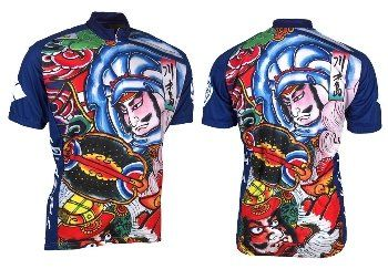 4e19740d1 Retro Samurai Mens Cycling Jersey Small     Click image for more  details.Note It is affiliate link to Amazon.