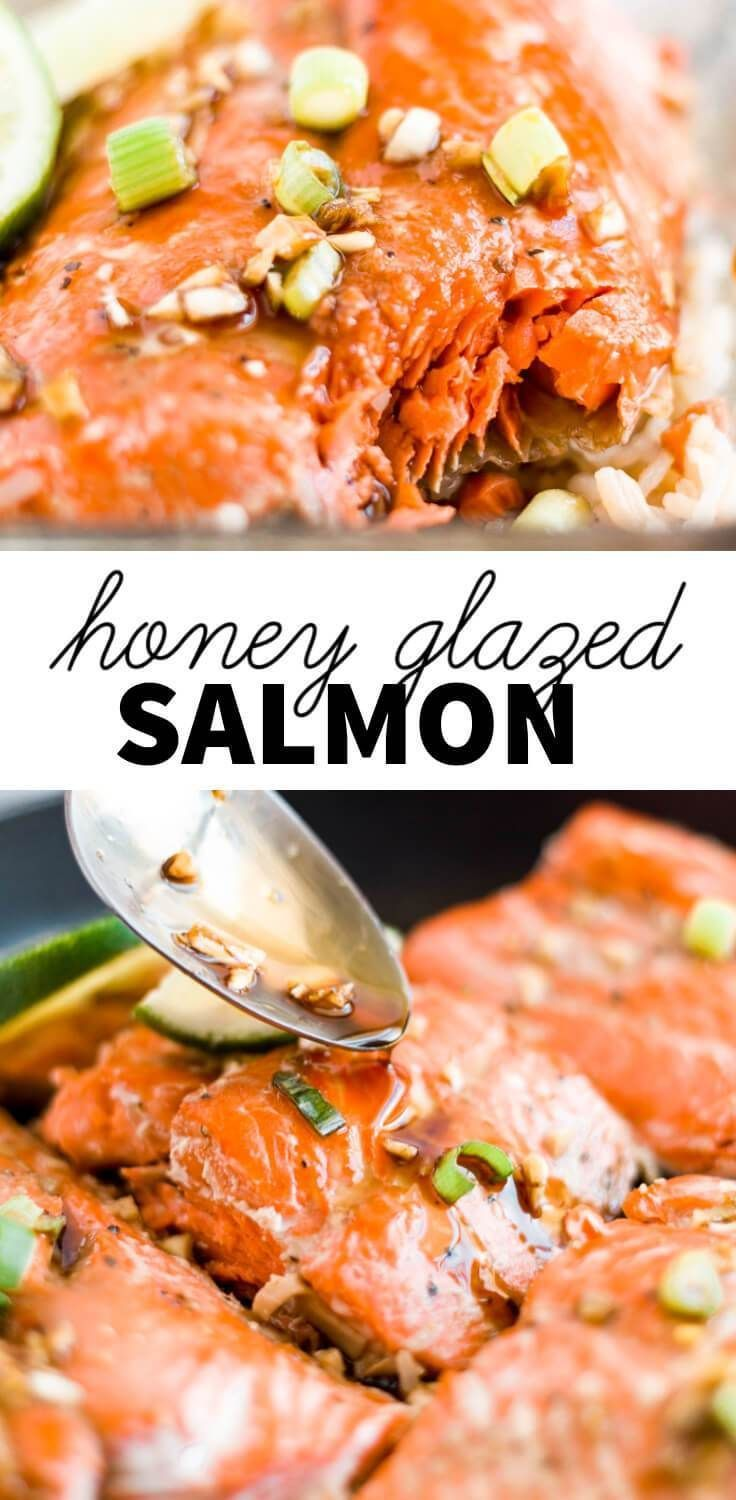 Honey Glazed Salmon | What Molly Made