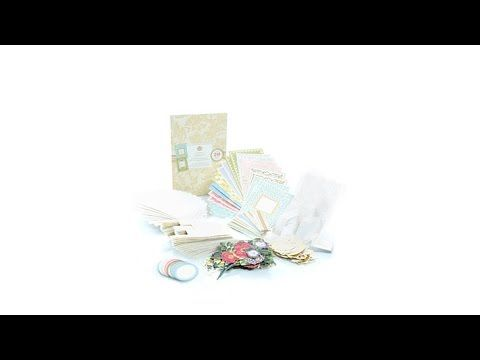 Anna Griffin Sweet Salutation Popup Cardmaking Kit - YouTube