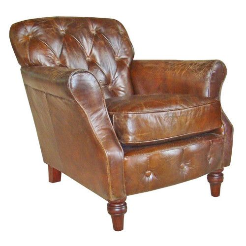 Found It At Wayfair.co.uk   Anglia Button Back Leather Armchair