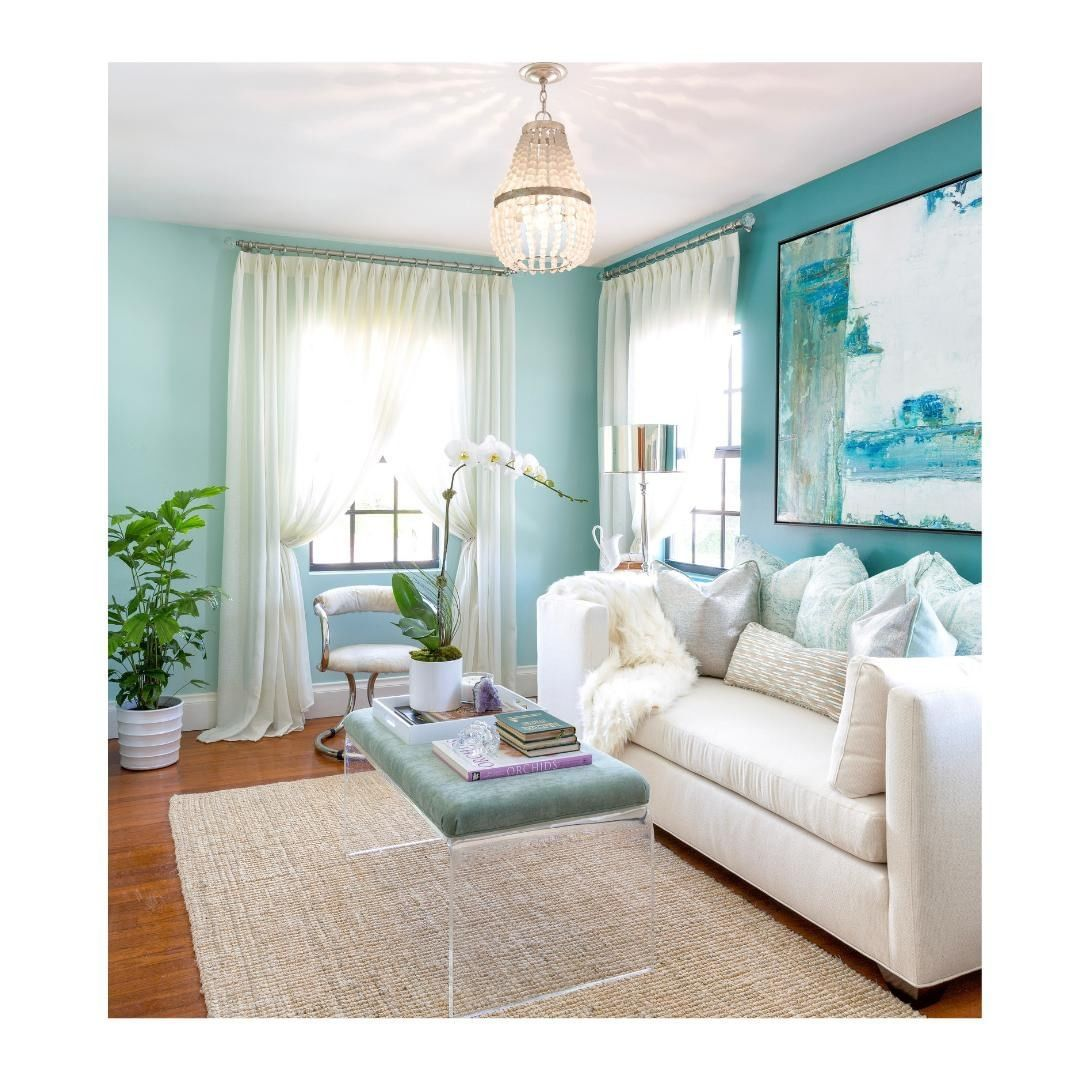 Home Decor With Pops Of Teal Neutral Teal Decor Teal Home Accessories Chic Sitti Blue Walls Living Room Blue Living Room Decor Accent Walls In Living Room #teal #accessories #for #living #room