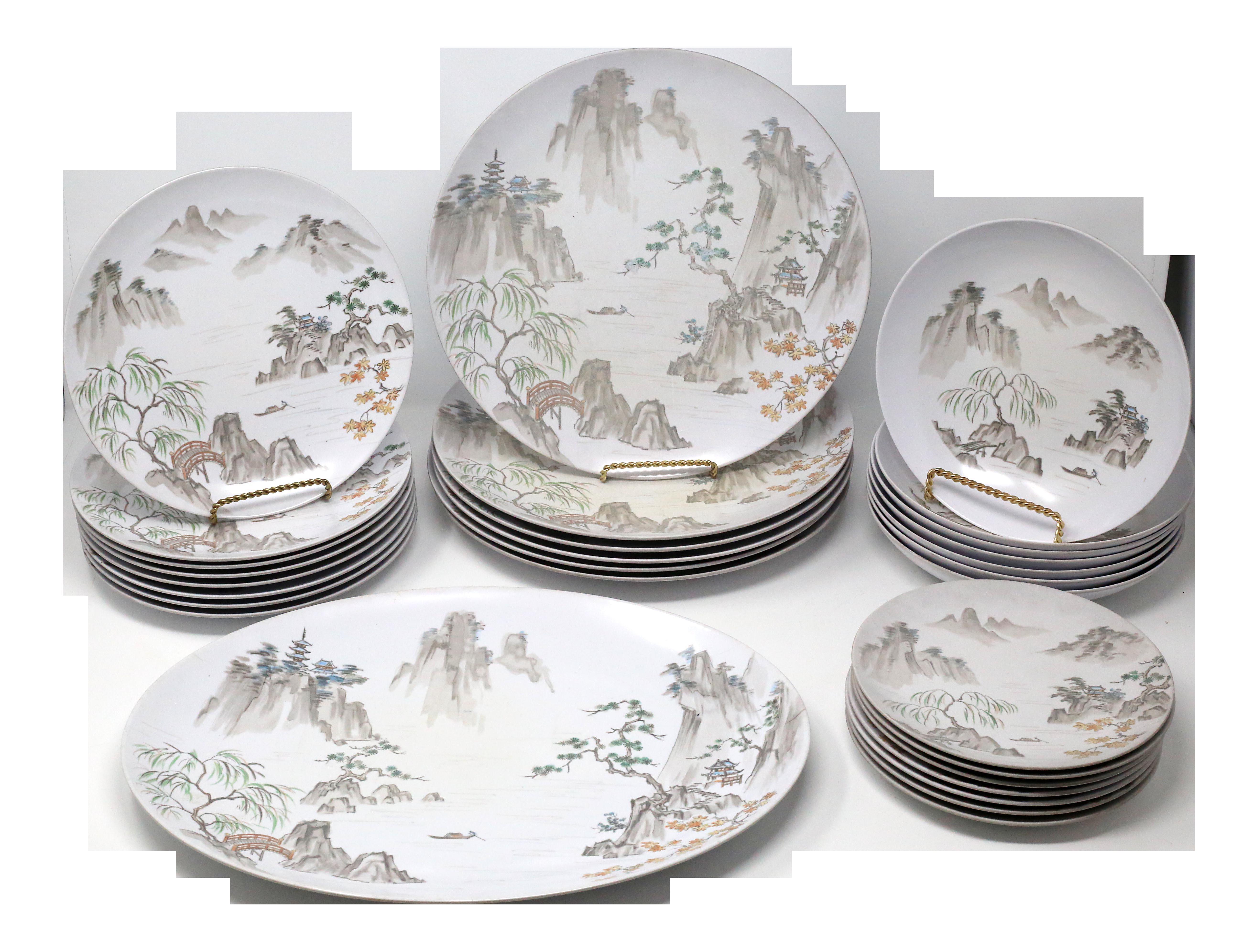 Vintage Noritake Japan Melamine Dinnerware Set Of 29 On Chairish Com In 2020 Melamine Dinnerware Sets Melamine Dinnerware Dinnerware