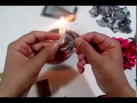 Débora DICastro- Flor de cetim - YouTube