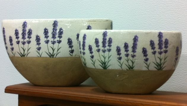 Love These Lavender Vases Available At Serenity Lavender Farm