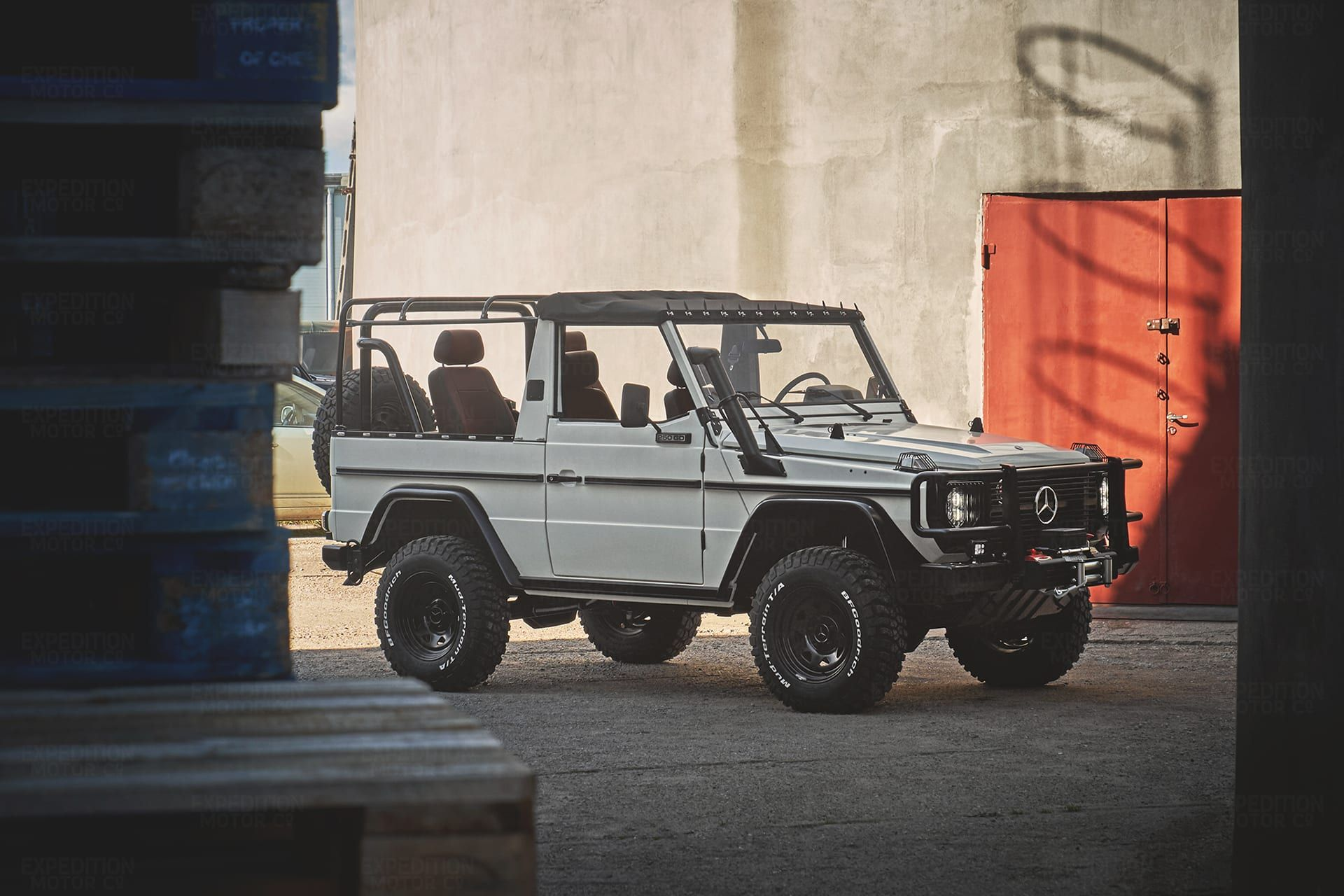 2b 013 Convertible Mercedes G 250 086737 In 2020 Land Rover Defender Land Rover Defender 90 For Sale