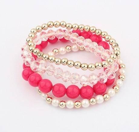 042797ce91b4 pulseras de piedras de cristal de moda - Buscar con Google