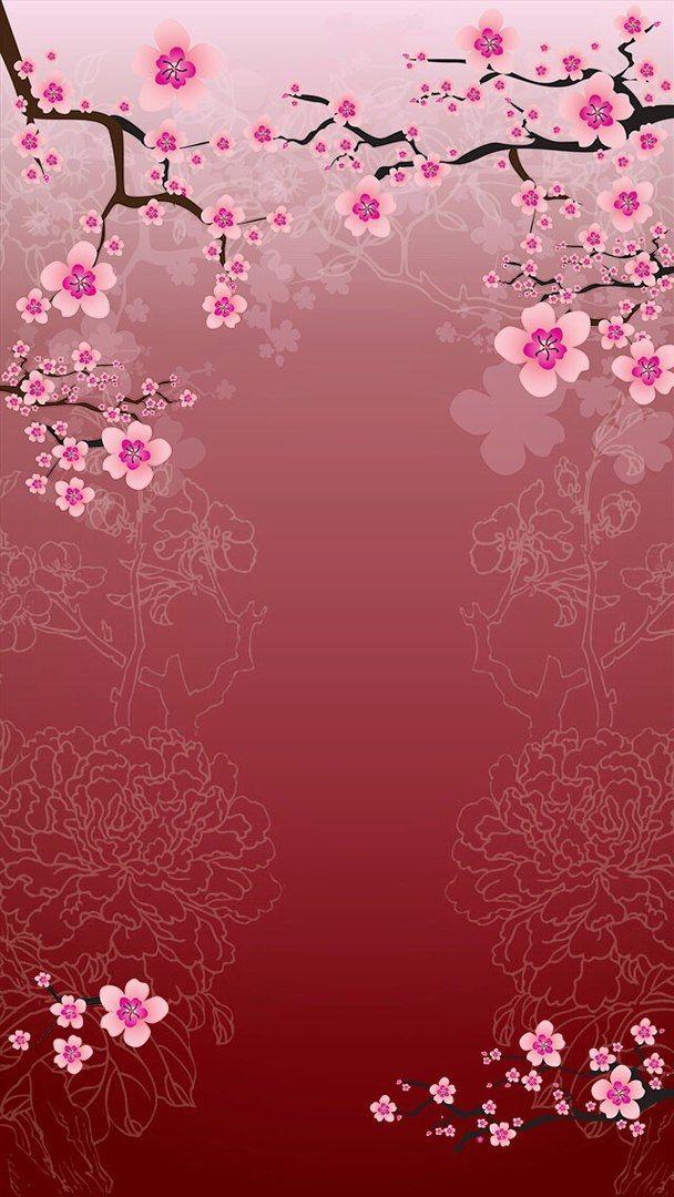 Cherry Blossoms #cellphonewallpaper #wallpaperbackgrounds #background