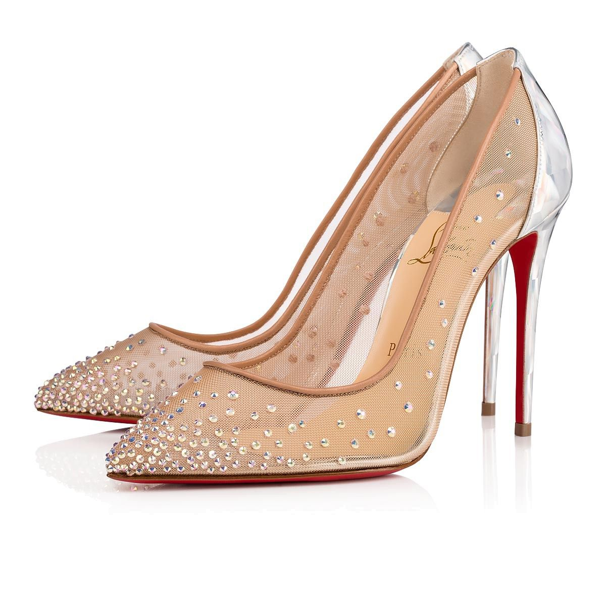 c870a7240d8 Follies Strass 100 Version silver Rete and Strass - Women Shoes ...