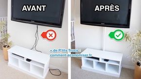Cacher Les Cables Tv Idees