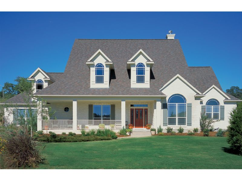 Saranac Lake Traditional Home Country Style House Plans Country House Plans Modern Farmhouse Exterior
