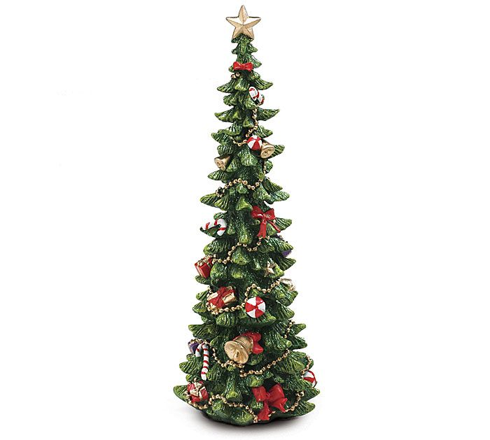 13 Decorated Resin Christmas Tree Tabletop Christmas Tree Large Christmas Tree Christmas Tree