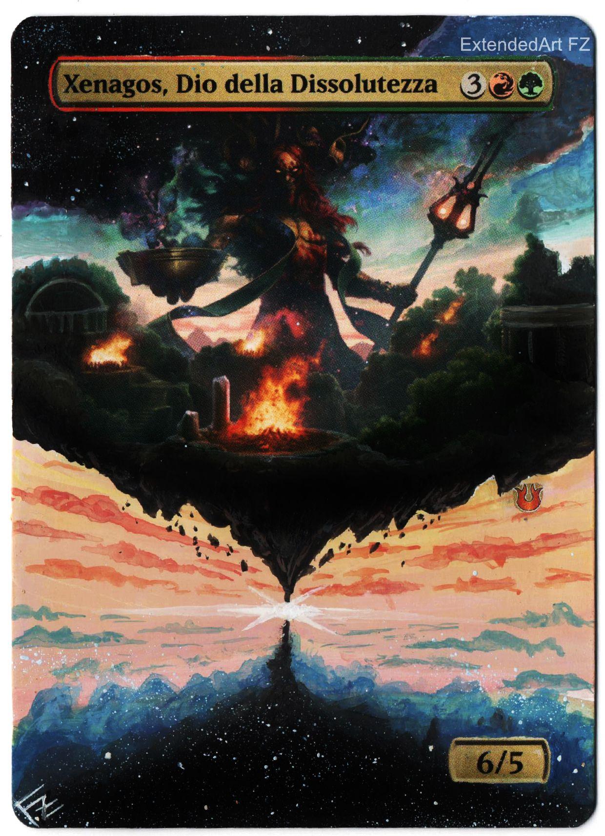 Xenagos God Of Revels Fullartwork Fz Magic