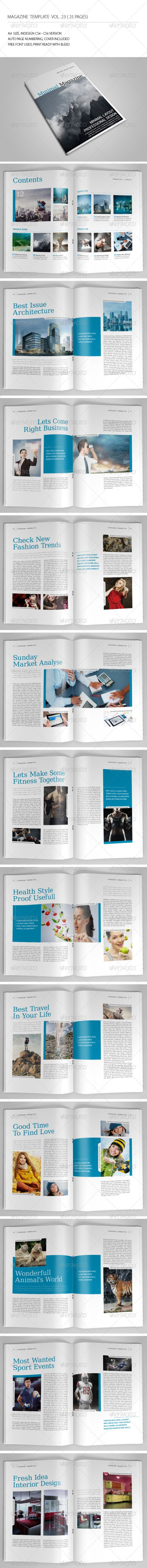 Pin by Bashooka Web & Graphic Design on Magazine Template & Design