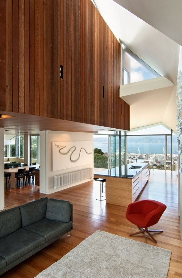Parsonson Architects Have Designed The Seaview House In Wellington, New  Zealand.
